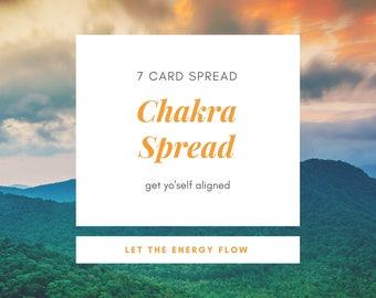 Chakra Spread// Tarot reading, Psychic Reading, Clairvoyant, Medium