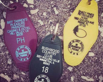 Awesome 80's Icons Key Fobs
