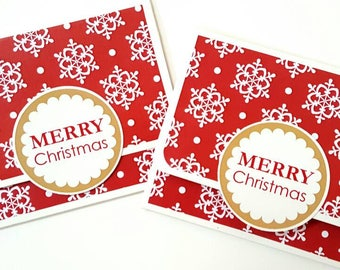 Christmas gift card holders / christmas party favors