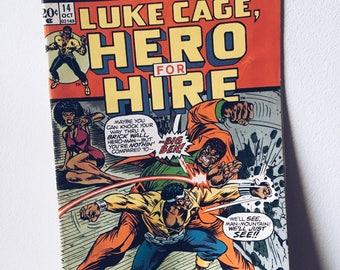 1970's Luke Cage Comic Book #14