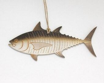 Blackfin Tuna Christmas Ornament