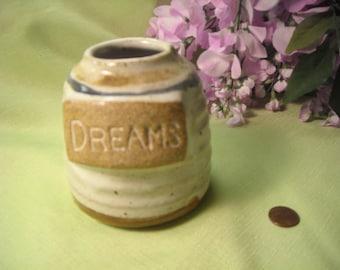 Vintage United Design DREAM Jar Glazed Stoneware