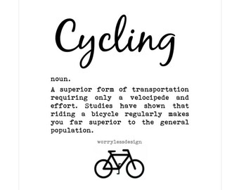 Cycling card - Cycling Definition