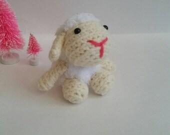 Custom Sheep, Sheep Plush, Mini Amigurumi Sheep, Crochet Sheep