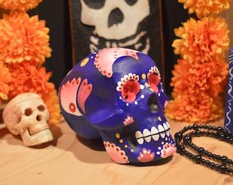 Sugar Skulls Dia de los muertos Day of the dead Calaveras Sugar skull Calaca halloween handmade Dany Calavera folk art