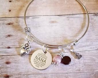 Nana charm bracelets, nana gifts,charm bracelets, expandable bracelets, silver bracelets, nana