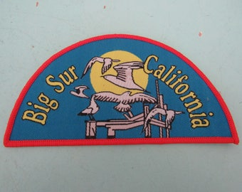 Vintage Big Sur California Patch Free Shipping