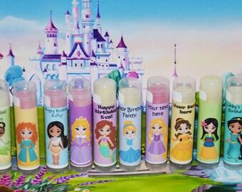 Lip Balm, Cinderella Party Favors, Princess Party, Princess Party Favors, Girl Birthday Party Favors, Princess Birthday, Girl Prizes, Movie