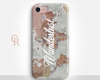 Wanderlust Phone Case For iPhone 8 iPhone 8 Plus - iPhone X - iPhone 7 Plus - iPhone 6 - iPhone 6S - iPhone SE - Samsung S8 - iPhone 5