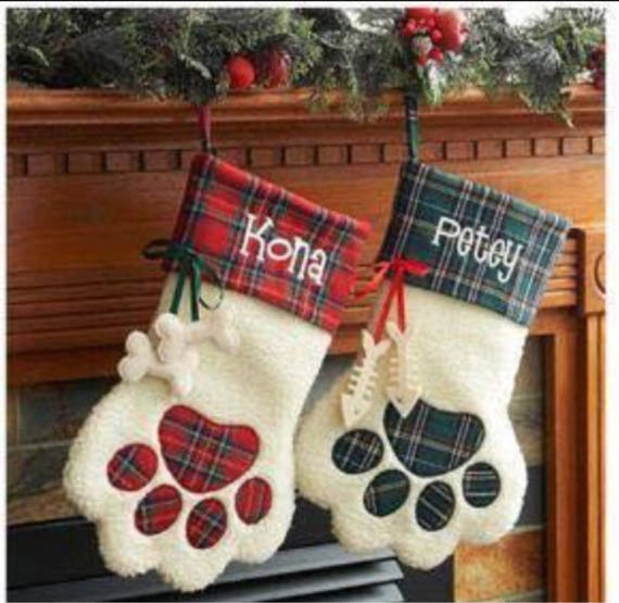 Cute dog stockings