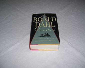 The Roald Dahl Omnibus; Perfect Bedtime Stories for Sleepless Nights HC/DJ 1993 Vintage