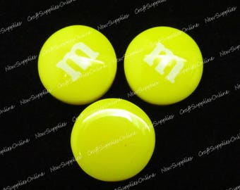 Yellow candy cabochon