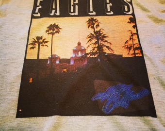 Vintage 1970's Eagles Hotel California T-Shirt Small