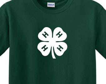4-H Club County Fair Funny T Shirt MANY Colors FRee Shipping Horses Camping Bluegrass Tee