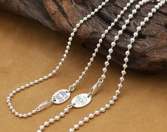 S925 CH silver cross, beads, fashion, necklace