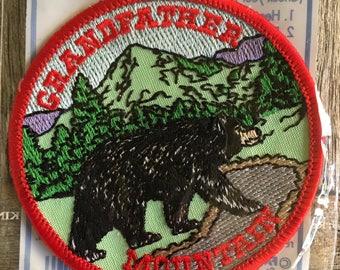 LAST ONE! Grandfather Mountain North Carolina Vintage Souvenir Travel Patch