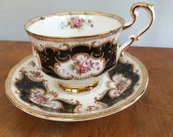 Vintage Paragon England Bone China Tea Cup & Saucer