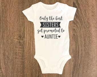 Trending Now - Pregnancy Announcement | Only the Best Sisters Get Promoted to Auntie Gift | Auntie Present | Pregnancy Reveal Gift to Sister