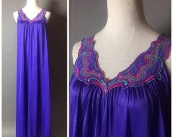 Vintage lingerie / vintage nightie / vintage nightgown / vintage negligee / vintage sleepwear / pajamas / pinup lingerie 8180