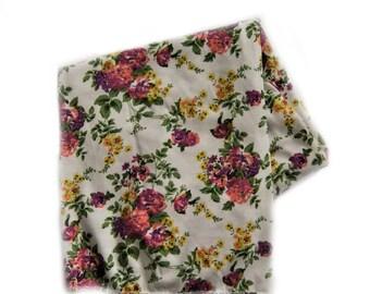 baby girl blanket, baby floral blanket ,baby swaddle  ,swaddle blanket, blanket,Floral blanket, baby blanket,baby shower gift