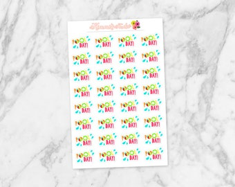 Pool Day! Summer Stickers | Planner Deco, Scrapbooking Stickers | Great for Erin Condren Life Planners, Happy Planners, Personal Planners