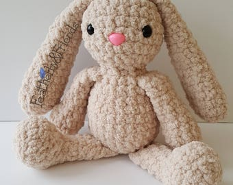 Pattern: Cuddle Buddy Bunny Crochet Stuffed Animal