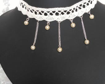 Ivory Choker necklace