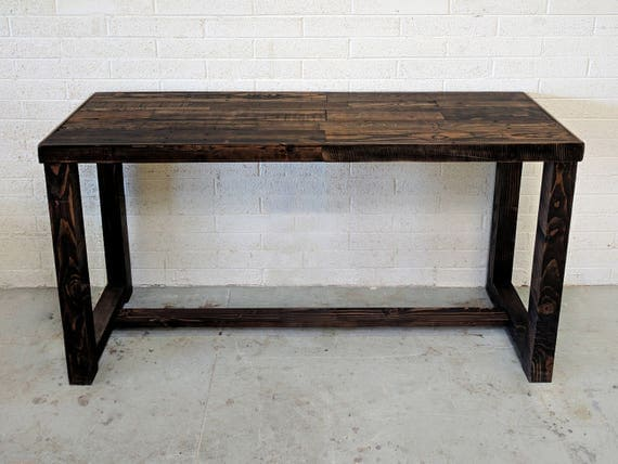 Reclaimed Wood Bar Restaurant Counter Community Rustic Provincial Kitchen  Coffee Conference Office Meeting Table Tables Hightop High Top