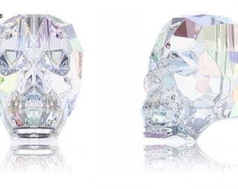 Swarovski 5750 - Skull Crystal Bead
