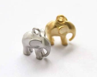 elephant pendant charm mothers day girlfriend handmade fashion animal jewelry making cute cool unique necklace bracelet anklet AC124