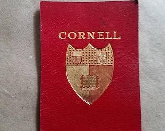 Vintage Leather Cornell Emblem Cigarette Card