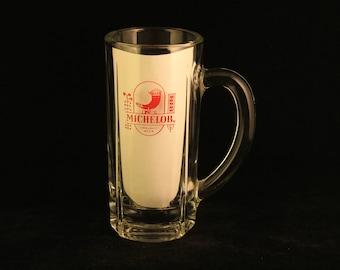 Vintage Michelob Glass Beer Mug