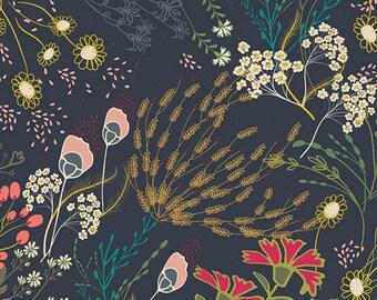 Indie Folk by Art Gallery Fabrics - Meadow Dim - Rayon Fabric