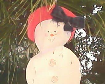 Armless Snowgirl