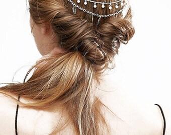 Faux Pearl Hair Accesory