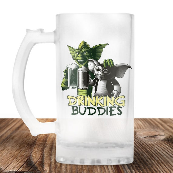 Gremlins Drinking Buddies Beer Stein-Cult Horror Gift -Gremlins Beer Mug- Craft Beer Mug -Beer Mug -Beer Lover Gift -Perfect Beer Lover Gift