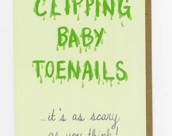 Clipping Baby Toenails