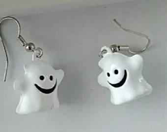 Ghost Jingle Bell Earrings
