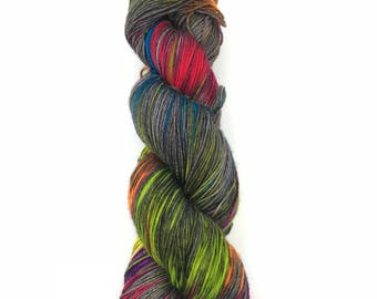Hand dyed yarn - Sock Yarn - One of a Kind