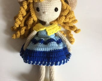 Amigurumi Doll with hat