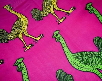 Sanhe Wax Print fabric by the half yard