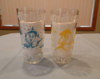 The Jetson's Drinking Glasses - Set of 2