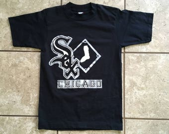 Chicago White Sox 90's Screen Stars Best T Shirt S 50/50 Made in USA