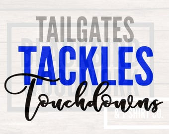 TailgatesTacklesTouchdowns Cut File ONLY
