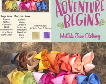 YOU PICK 4- M2M Matilda Jane The Adventure Begins June Bow Release