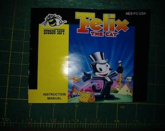 Felix the cat new manual