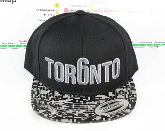Tor6nto Collection Snap Back Hats. Original, Custom, CN Tower, The Six, 6ix, Area Code, 416 Hats in Roman Numerals GTA, YYZ, ovo, The Weeknd