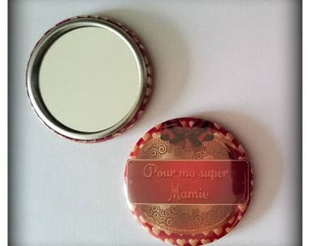 Pocket mirror 'for my great Grandma'