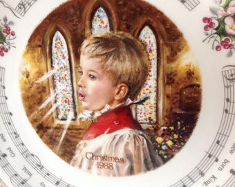 Royal Doulton Vintage Christmas Carols 1988 - Hark The Herald Angels Sing