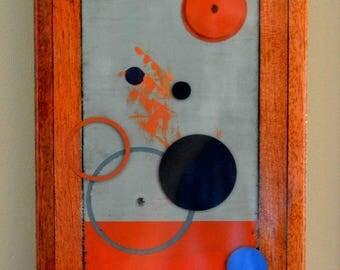 Spatial Study In Blue & Orange